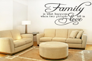 Quote on the wall! (Living room)
