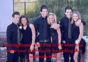 Funny New Jersey Guido Prom Picture - SlightlyQualified.com Funny Pics