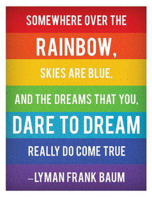 rainbow connection all weekend so here are quotes about rainbows
