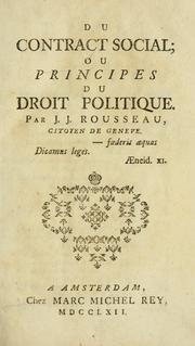 Jean Jacques Rousseau Social Contract