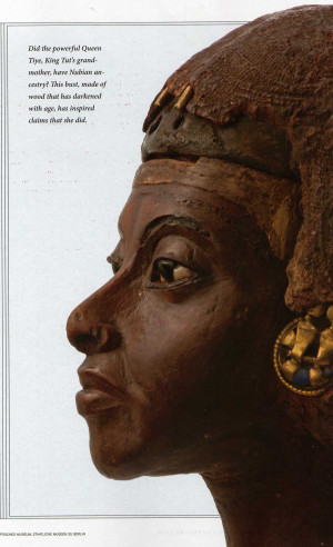 Nefertiti's Mother or Aunt (Queen Tiye) whom she was buried with rigt ...