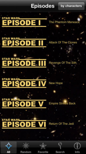 Quotes for Star Wars app review: for the true fans