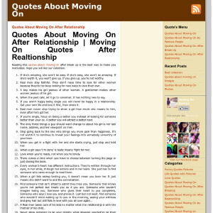 Quotes About Moving On After Relationship