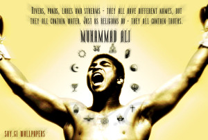 Muhammad Ali Anti-Racism by TheSayGi