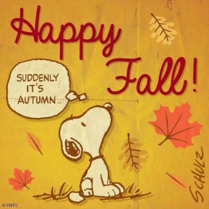 Snoopy says,