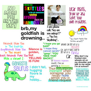 Funny quotes! :D