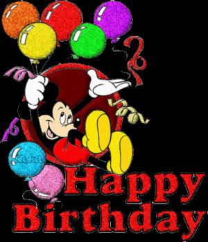 cute mickey wishes happy - photo #17