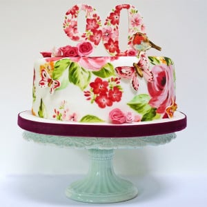 Robin cake