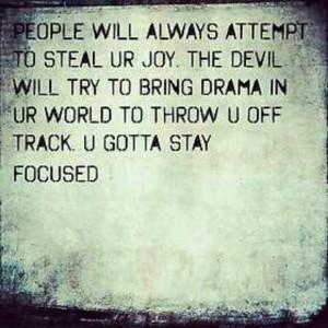 Stay Focused!!