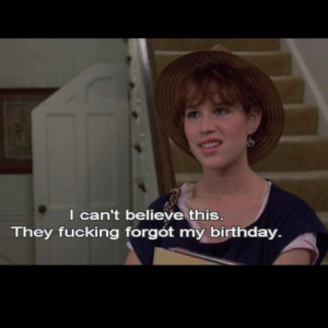 16 Candles Movie Quotes