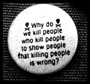 It doesn't make sense. In fact, it's just as bad as killing people ...