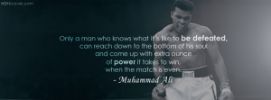 Get HD quality FB Cover Photo of Mohammed Ali With His Quotes. You can ...