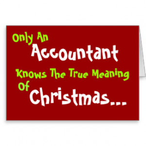 Meaning of Christmas - Funny Christmas Message Greeting Card