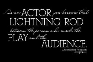 Free 1920 x 1280 Wallpaper. Quote by Christopher Walken. Design by ...