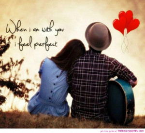 Cutest Teenage Quotes About Love: When I Am With You A Teenage Quotes ...