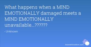 emotionally damaged quotes