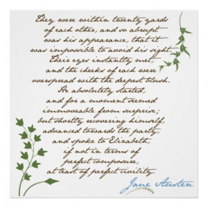 Jane Austens pride & prejudice quote