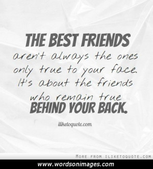 Backstabbing Friends Quotes And Sayings