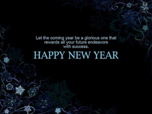 25 Beautiful Happy New Year Quotes