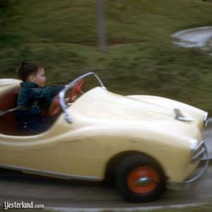 future california freeway driver feels the wind in his hair