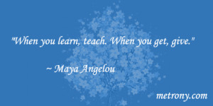 10 Maya Angelou Quotes that Inspire Success