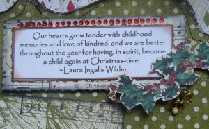 Laura Ingalls Wilder Christmas Quotes