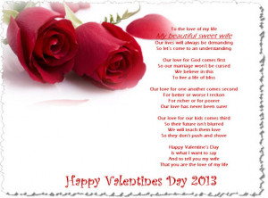 ... Happy Valentine day 2013 Greeting Cards with Romantic Love Quotes