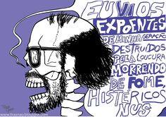 Howl by Allen Ginsberg illustr phrase, allen ginsberg