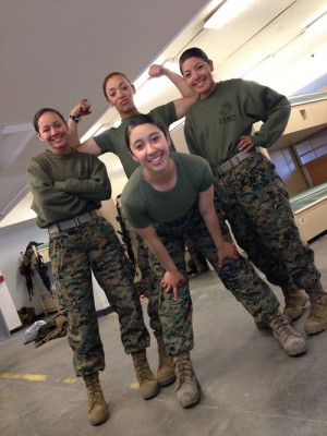 marines | female marines | TumblrYoung Marines, A Real Woman, Soldiers ...