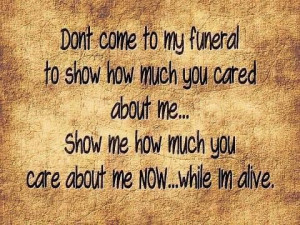 Show me you care picture quotes image sayings