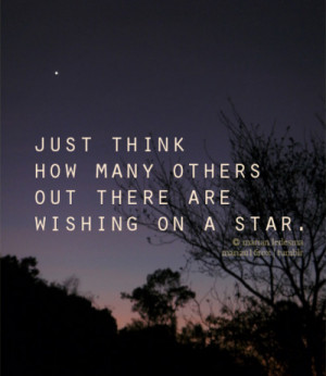 ... quotes typography sayings text photography wishing on a star via
