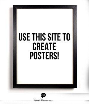 see framed quotes on Pinterest and now you can make your own – no ...