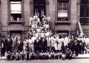 ... fière et inspirée. A great day in Harlem l'a-t-on nommé