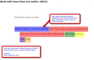 ... with More Than One Author MLA Mla essay quote citing uncategorized