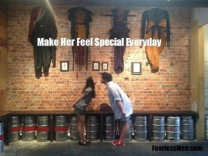 How to Make Her Feel Special Everyday Part I