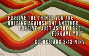 forgiveness bible passage