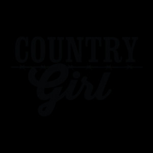 Country Girl Wall Quotes™ Decal