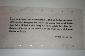 Ethan Allen Revolutionary War Quotes