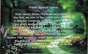 Prayers For Sick / Prayer Postcards