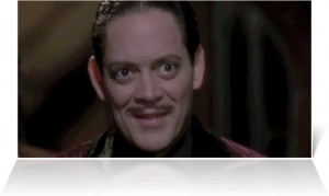 Raul Julia as Gomez Addams in The Addams Family (1991)