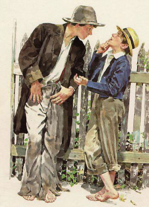 ... reinvention craze strikes the story of Huck Finn and Tom Sawyer