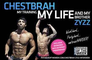 Chestbrah – My Training. My Life, and my brother Zyzz