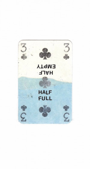 half empty half full # quotes @ mobile9