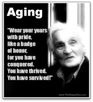 Aging Gracefully (You're How Old?!?)