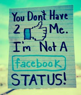 am.Not.FB Status