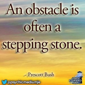 ... stepping stone.