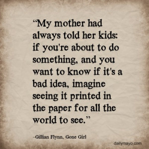 Quote Me Thursday Link-Up: 5 Quotable Quotes from Gone Girl