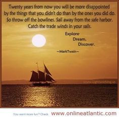 quotes about sail away the safe hardor more best love quotes ...