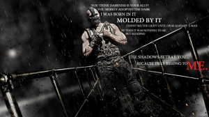 text quotes shadows typography darkness bane tom hardy batman the dark ...
