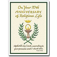 Religious Profession of Vows Anniversary Cards